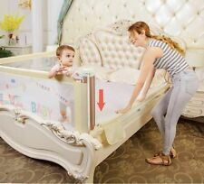 Portable Travel Bed For Baby Guardrail Kids Playpen Safety Rails Security Fence