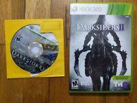 USED - DarkSiders 1 + 2  Microsoft Xbox 360 - Lot of 2 Bundle - Free Shipping