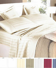 Complete bedding double satin Pure Cotton Italy Ivory Cream GFF line