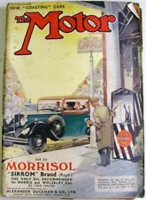 The MOTOR 26 Jul 1932 Original Motoring Car Magazine