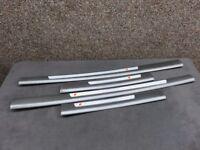 Audi Fare Iniziale A3, Set 2 Pezzi, Inserto Decorativo Alluminio S ...