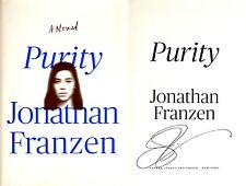Jonathan Franzen~SIGNED~Purity~1st/1st HC + Photos!!!