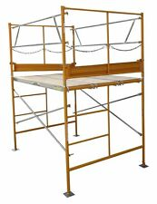 5' Stationary Tower w Deluxe Safety Rails - 5' Scaffold Tower