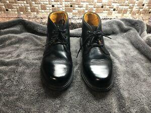 Havana Joe Men's Panama Jack Black Leather Chukka Boots  EU 43 US 9.5 D