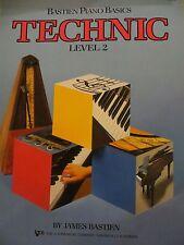 Level 2 Bastien Piano Basics Technic WP217 Kjos