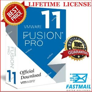 VMWARE FUSION 11 PRO MAC 🔑LIFETIME KEY🔑 OFFICIAL 2021  🔥FAST DELIVERY🔥