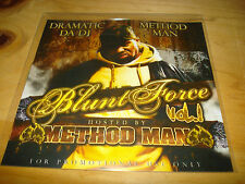 Method Man 'Blunt Force' mixtape CD