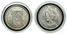 Netherlands - 1 Gulden 1916 - Schaars,  Wilhelmina, in muntcapsule