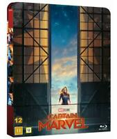 Captain Marvel Limited Edition Steelbook 1-Disc Blu Ray