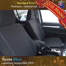 Toyota Hilux (Sep 15-now) FRONT Premium Tough Neoprene Seat Covers