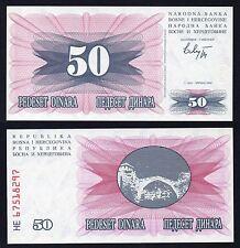 50 dinara Bosna Hercegovina 1992 FDS/UNC #