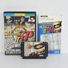AYRTON SENNA'S MONACO GP II 2 Mega Drive Sega md