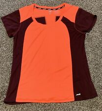 Avia Women's XL Long Sleeve Athletic Running Shirt - Reflective