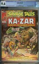 SAVAGE TALES #6 CGC 9.6 WHITE PAGES