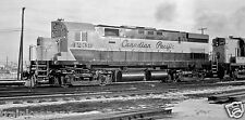 Canadian Pacific (CP) #4239 Black & White Print