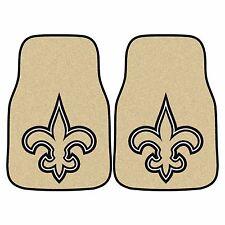 New Orleans Saints 2-Piece Carpet Car Auto Floor Mats