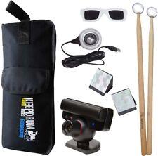 Aerodrums air-Drumming con cámara ps3 + KEEPDRUM stickbag sb-01