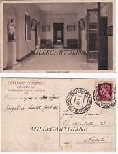 PALERMO: Collegio Zonzaga  vestibolo delle scuole   1936