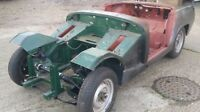 1966 MG Midget Unfinished Project