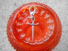 Supernatural Silver 2 Angel Blade Charms Castiel hunter fits charm Bracelet