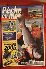 PECHE EN MER N° 236 MARS 2005  Toutes les techniques de  pêches en eau salée