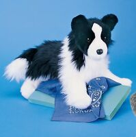 Douglas Cuddle Toys Chase the Border Collie # 2001 Stuffed Animal Toy