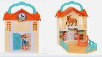 Spirit Riding Free Stow 'n Go Barn Playset NEW