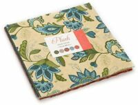 "Plush Moda Layer Cake 42 100% Cotton 10"" Precut Quilt Squares by Sandy Gervais"