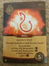 Harry Potter Hogwarts Battle REDUCTO GenCon 2017 Promo Card USAopoly