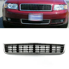 Front Bumper Center Lower Grille Grill Mesh For 2002-2005 Audi A4 B6 Sedan BU