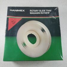 "Vintage Hanimex No Spill Rotary Slide Trays Holds 100 2""x2"" Slides NEW Sealed"