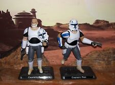 "Star Wars CUSTOM Rebels Captain Rex 4"" fig. More Articulate. 2 WEEKS LEED TIME"