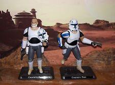 """Star Wars CUSTOM Rebels Captain Rex 4"""" fig. More Articulate. 2 WEEKS LEED TIME"""