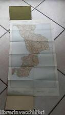 CARTA GEOGRAFICA D ITALIA TCI AL 500000 FOGLIO 10 CALABRIA REGGIO COSENZA DI