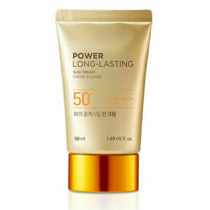 [THE FACE SHOP] Power Long-Lasting Sun Cream SPF50+ / PA+++ / Free Gift / USA