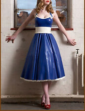 Sexy Latex Dresses Rubber Gowns for Girl Evening Party Wear Women  formal dress