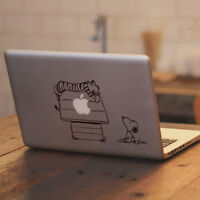 Calvin & Hobbes Snoopy House for Macbook Air Pro Laptop Car Vinyl Decal Sticker