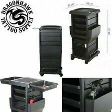 Tattoo Work Station Mobile Equipment Studio Butler Arbeitswagen Zubehör 4 Fächer
