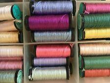 Kreinik Assorted Silk Serica Thread 10m Various Colours