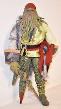 "Pirates Of The Caribbean Davy Jones 12"" Action Figure Zizzle Walt Disney"