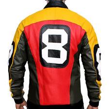 8 Ball Seinfeld Puddy Patrick Warburton Bomber Leather Jacket