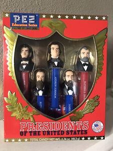Pez Presidents of the United States Volume IV (4) 1861-1881 Education Series NIB