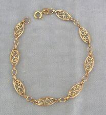 Filigranes Gold Armband 375 / 9 C Gelbgold 3,1g ✹KEIN Altgold / Bruchgold✹18 cm