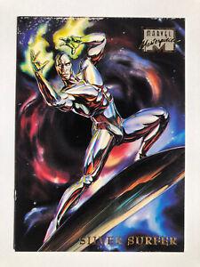 1996 Marvel Masterpieces #44, Silver Surfer (Fleer, Skybox) , Rare, HTF!!!