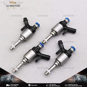 New Set of (4) Fuel injectors for Volkswagen Golf Audi A3 1.8L 15-16 06L906036J