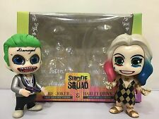 Hot Toys Cosbaby Suicide Squad The joker & Harley Quinn Figure New In Box