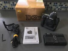 Nikon D D3x 24.5MP Digital SLR Camera - Black (Body Only)