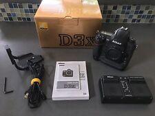 Nikon D D3x 24.5MP Digital SLR Camera - Black (Body Only)