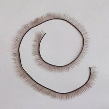 Brown Eyelash Baby doll parts 20cm length 6mm wide For Reborn Baby Doll BJS SD
