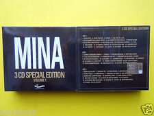 rare box set mina special edition volume 1 raro cofanetto 3 cd fuori catalogo gq